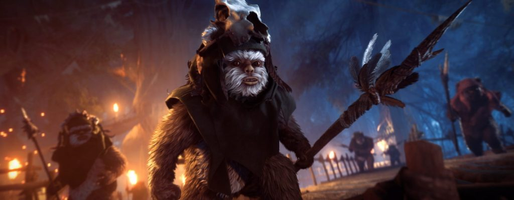 Star Wars battlefront 2 Ewoks
