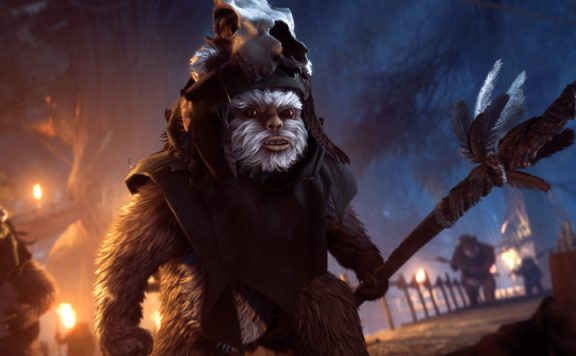 Star Wars Battlefront 2 Ewoks