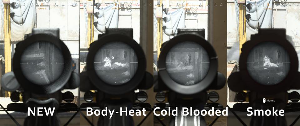 cod warzone thermal visier