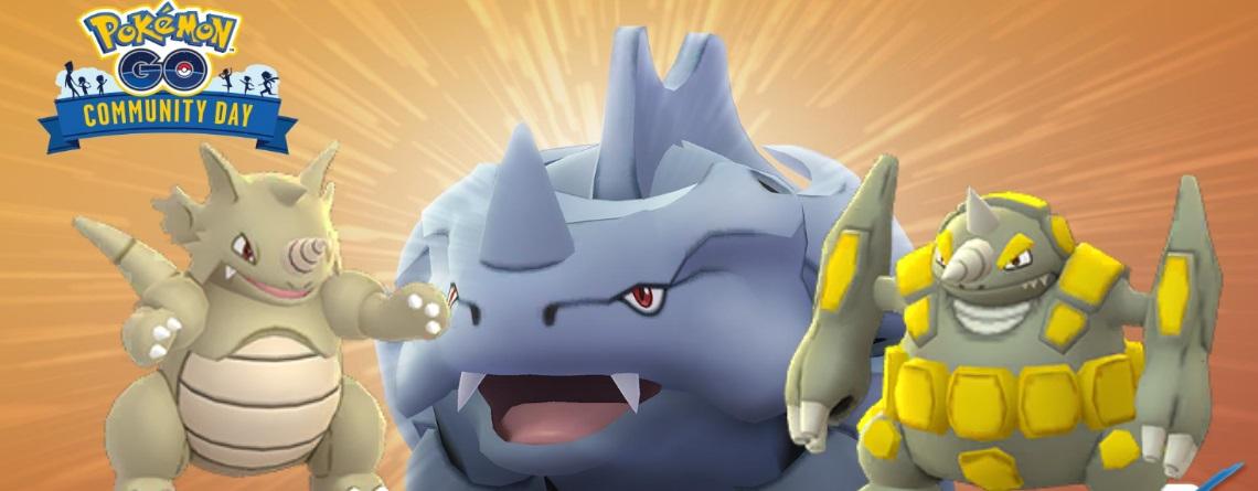 Pokémon GO: Community Day im Februar mit Rihorn und diesen Boni