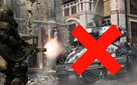 CoD Panzer weg