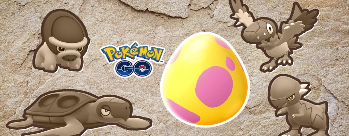 Pokémon GO: Neues Event packt seltene Fossil-Pokémon in 7-km-Eier
