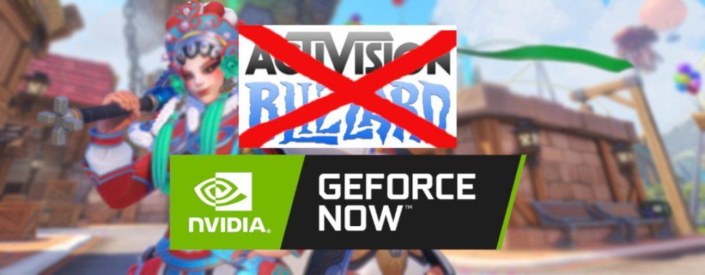 GeForce Now entfernt Spiele von Activision Blizzard 2020
