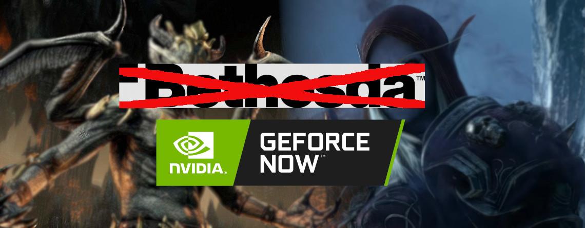 GeForce Now verliert ESO und Fallout 76, alle Spiele von Bethesda außer einem