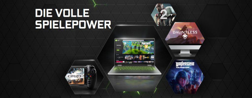 GeForce Now Streaming-Dienst von Nvidia