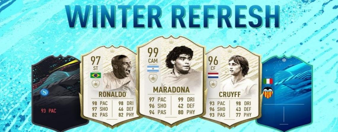 FIFA 20 Winter-Refresh: Alle Winter-Upgrades und Prime Icon Moments