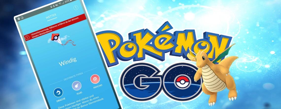 Sturm Sabine tobt über Deutschland – Pokémon GO-Trainer suchen Drachen