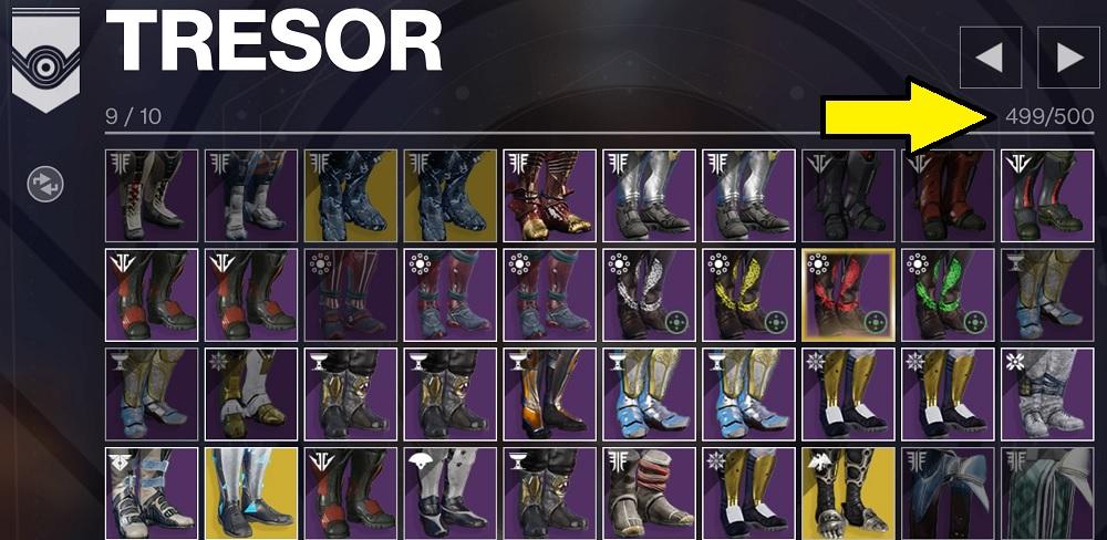 Tresor Destiny 2