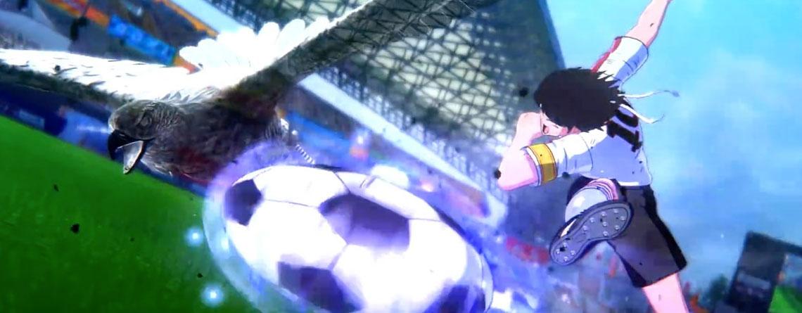 Saltos und Feuer-Schüsse – Neues Tsubasa-Game zeigt FIFA 20, wie Fußball richtig geht