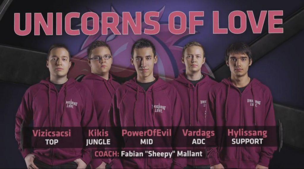 Unicorns of Love 2015 mit PowerOfEvil und Hylissang