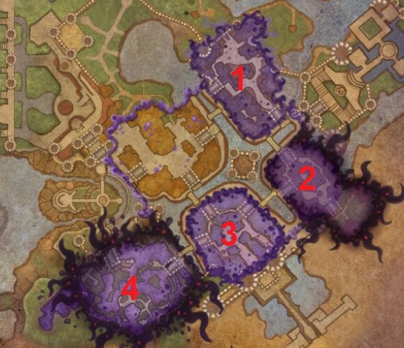 Vision of Stormwind Map