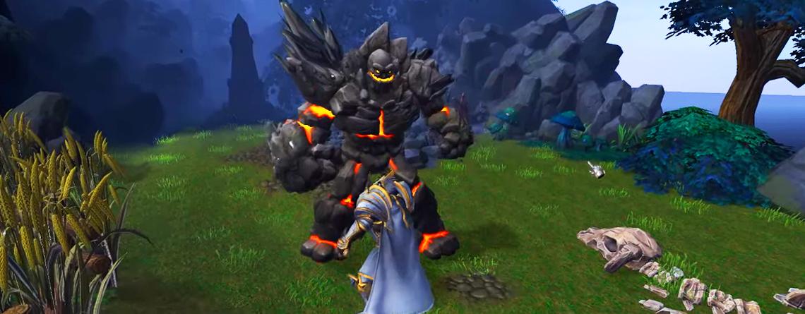 """Warcraft 3: Reforged sieht mit Custom Map aus wie WoW – """"Okay, das ist episch"""""""