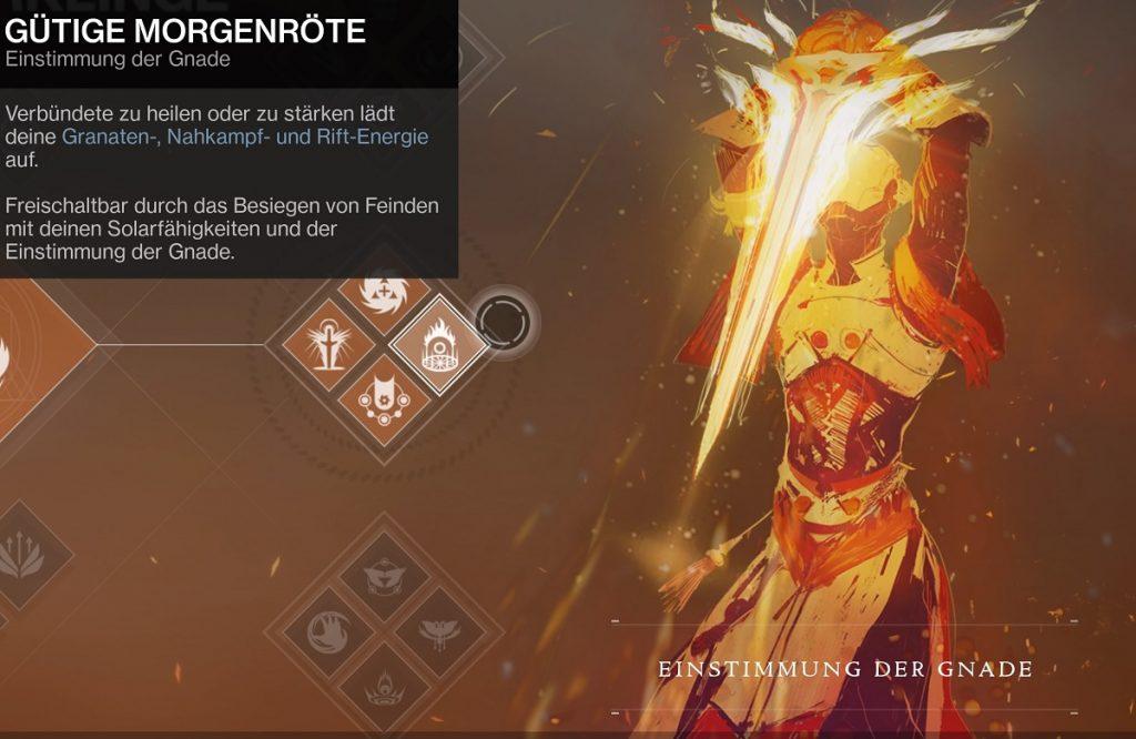 Warlock gnade Destiny 2