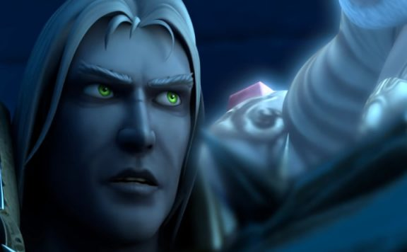 WoW Arthas Death title 1140x445
