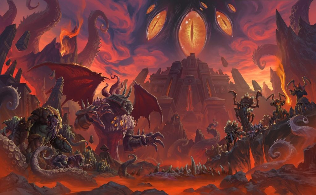 WoW Artwork Patch 83