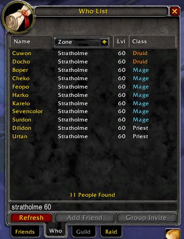 WoW Classic Bot List 2