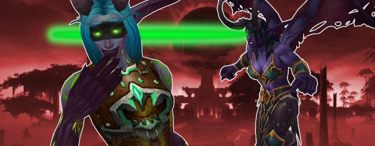 WoW Demon Hunter Eyebeam title 1140x445