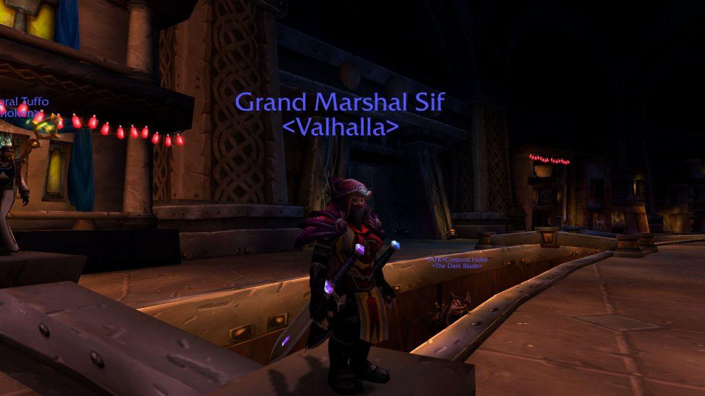 WoW Grand Marshall Rank 14 Sif