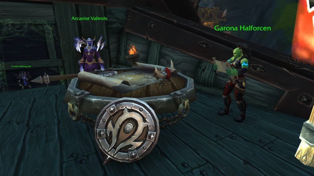 WoW Mission Table Horde