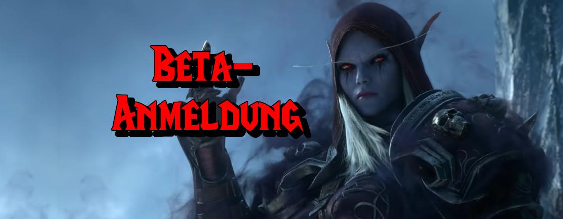 So meldet ihr euch jetzt zur Beta von WoW Shadowlands an