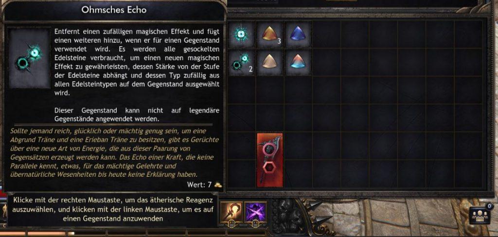 Wolcen-Ohmsches-Echo