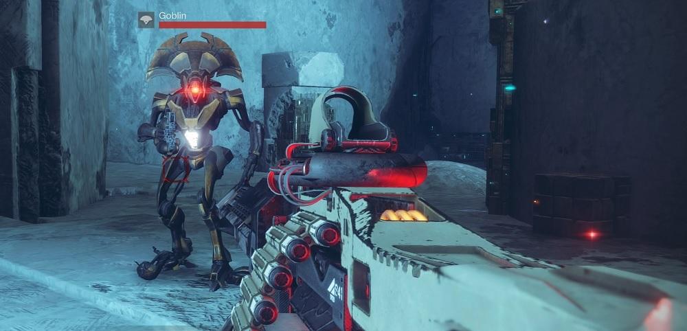 Xenophage Vex Goblin Destiny