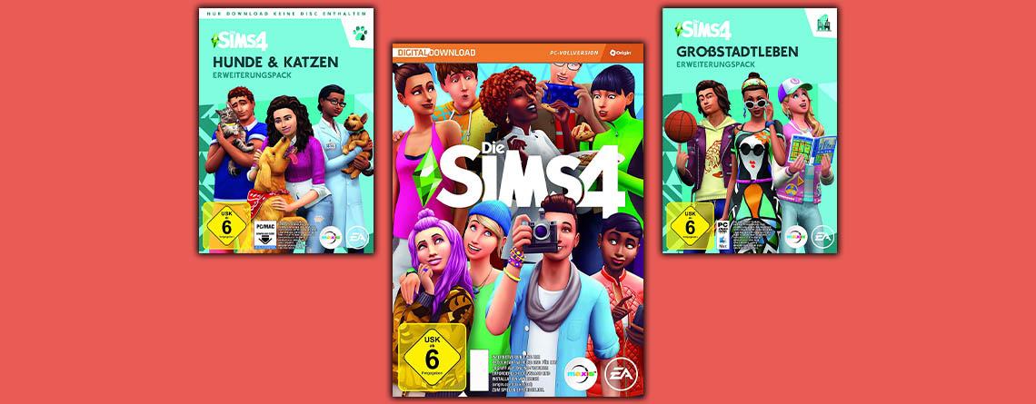 Amazon Angebot: Die Sims 4 und Addons als Origin-Keys zum Bestpreis