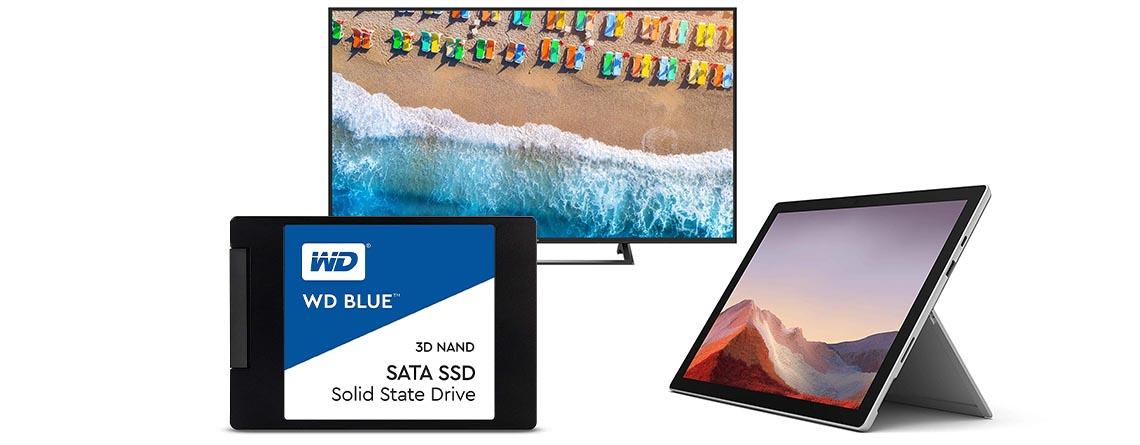 Amazon Angebote: Surface Pro 7 und 500 GB SSD zum Bestpreis