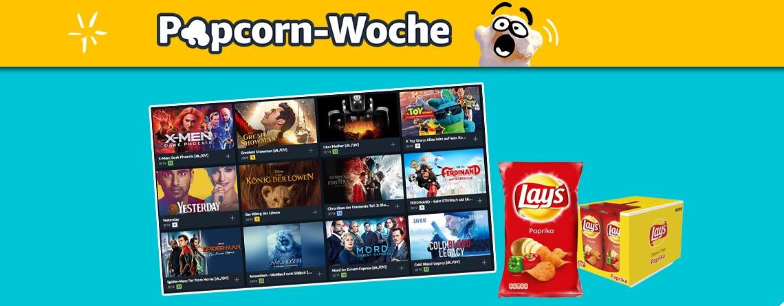 Amazon Popcorn-Woche: Über 300 Prime Video Filme für 99 Cent leihen
