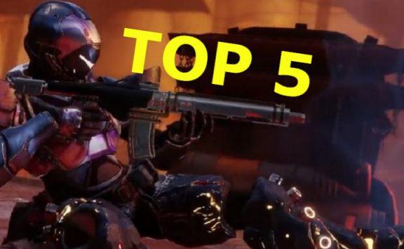Top 5 Automatikgewehre Destiny 2