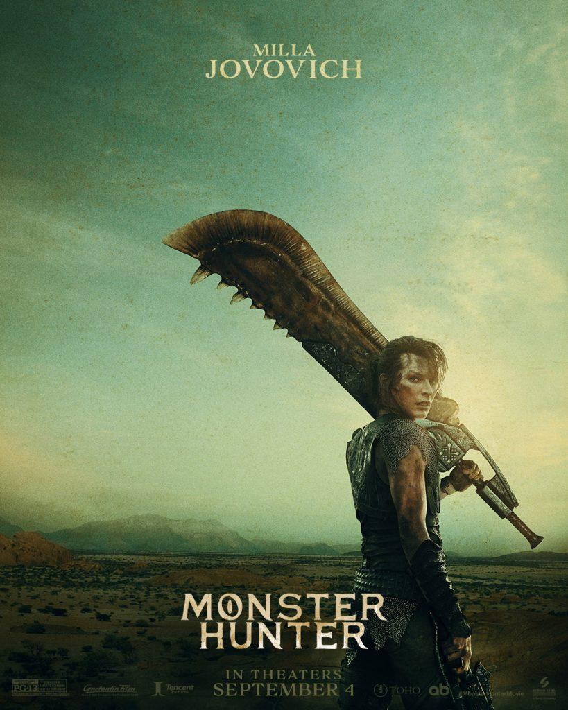 monster hunter film jovovich