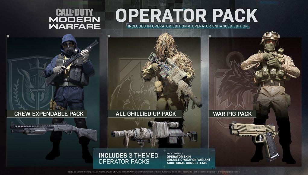 cod modern warfare 100 dollar battle pass bundle operator