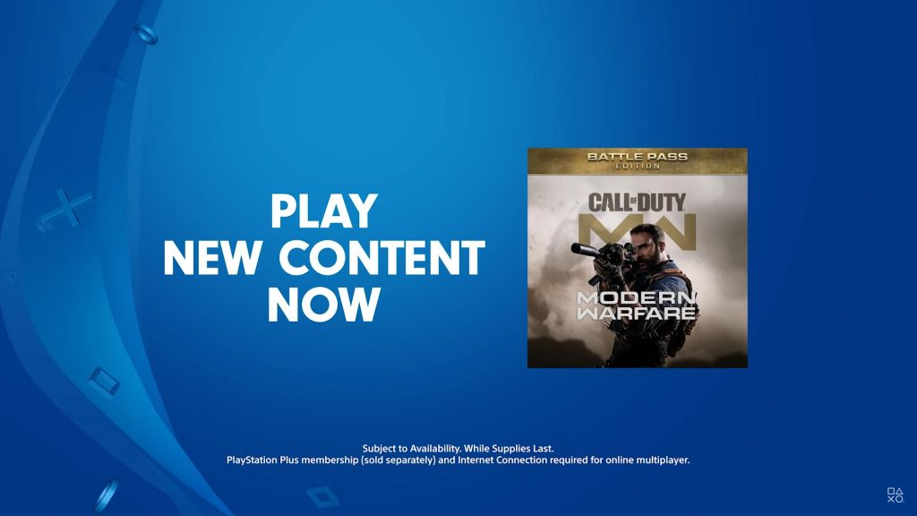 cod modern warfare exklusive playstation inhalte