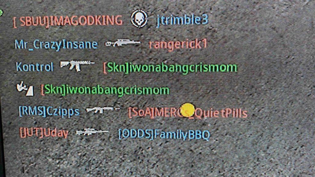 cod modern warfare glitch gamertag green