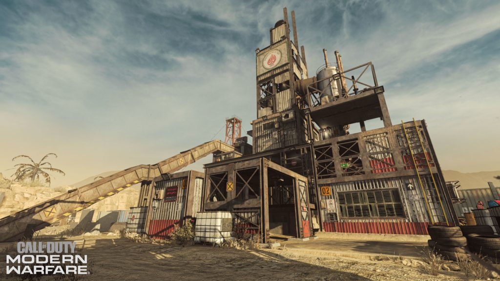 cod modern warfare maps rust neu