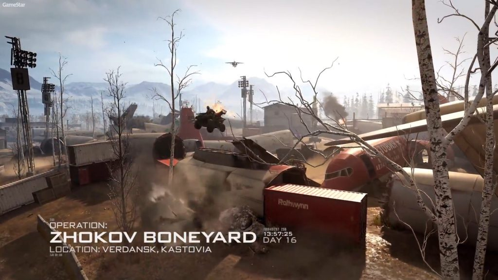 cod modern warfare maps zhokov boneyard