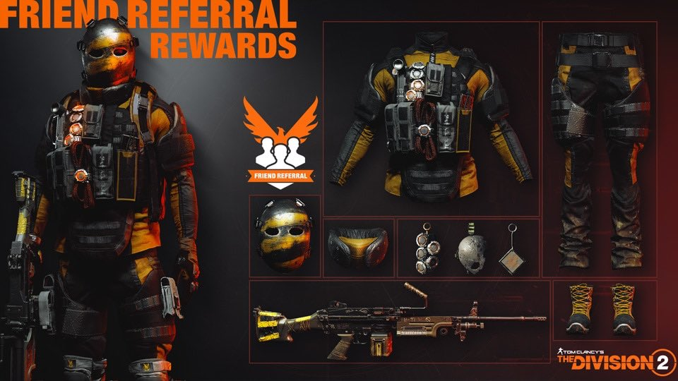 division-2-freunde-werben-hunter-outfit