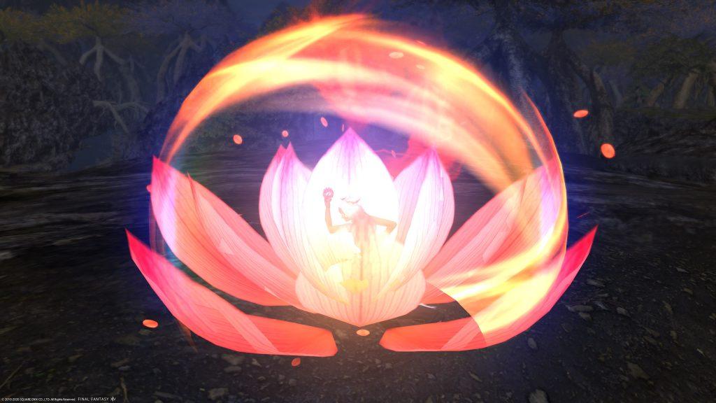final fantasy xiv mönch flammendes enigma