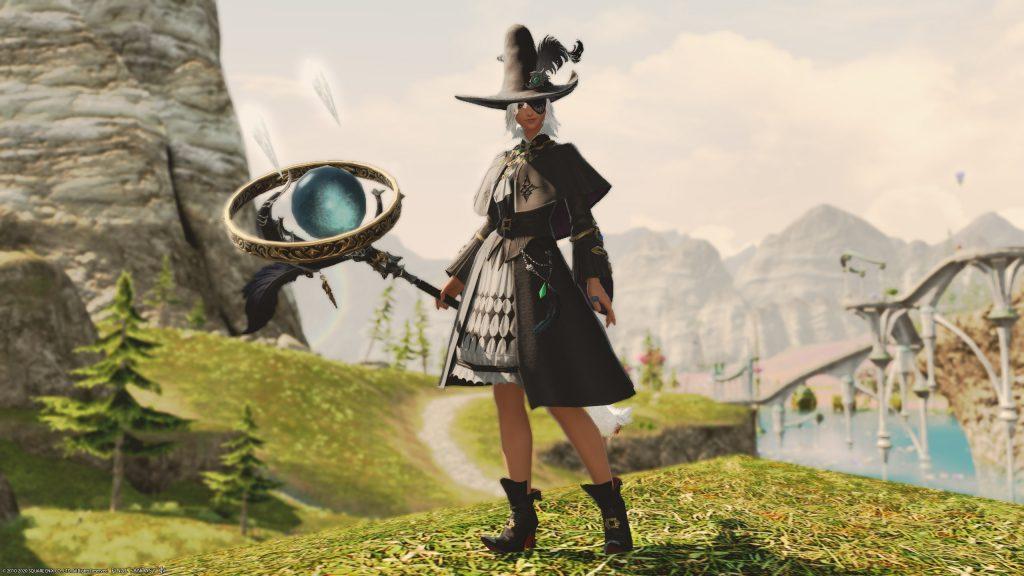 final fantasy xiv schwarzmagier job