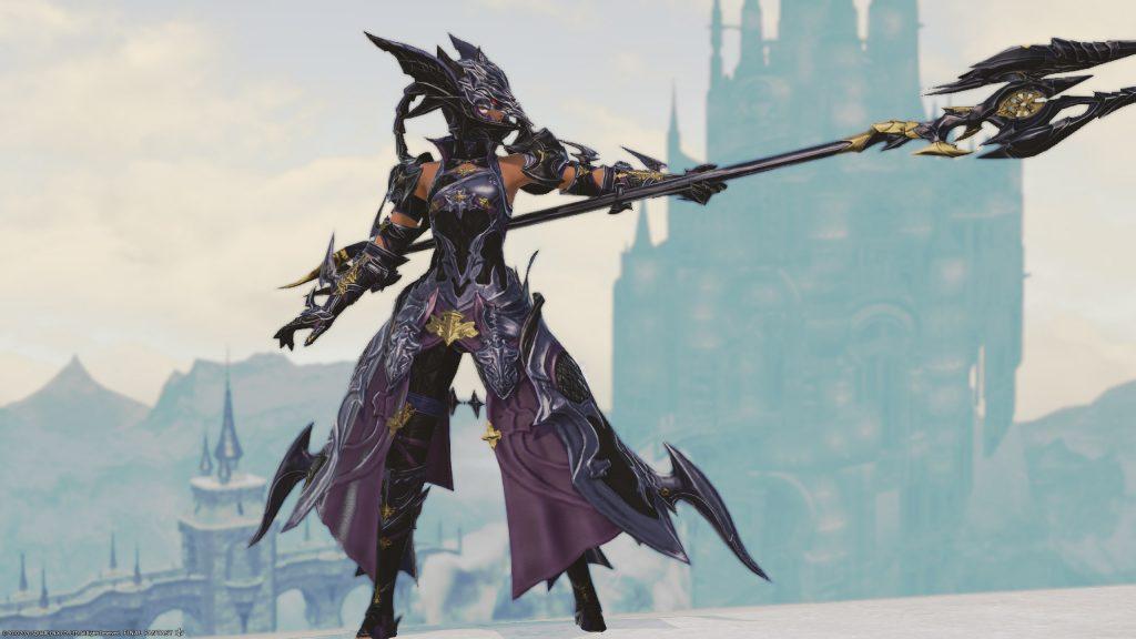 final fantasy xiv dragoon job