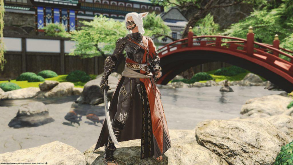 final fantasy xiv samurai job