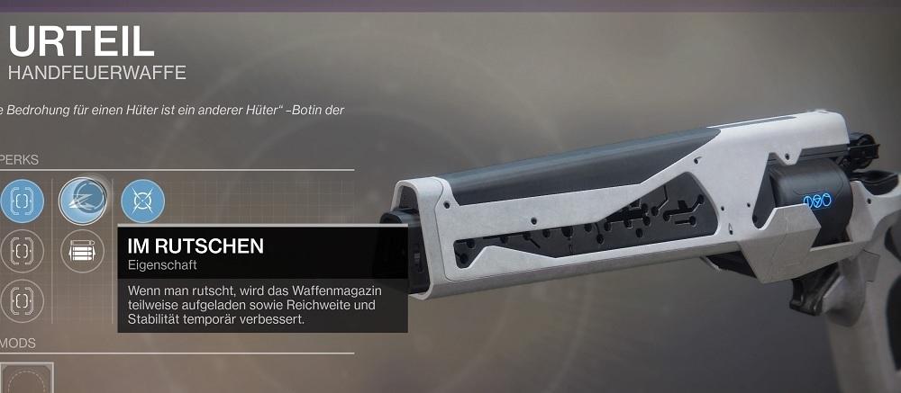 Im Rutschen Destiny 2