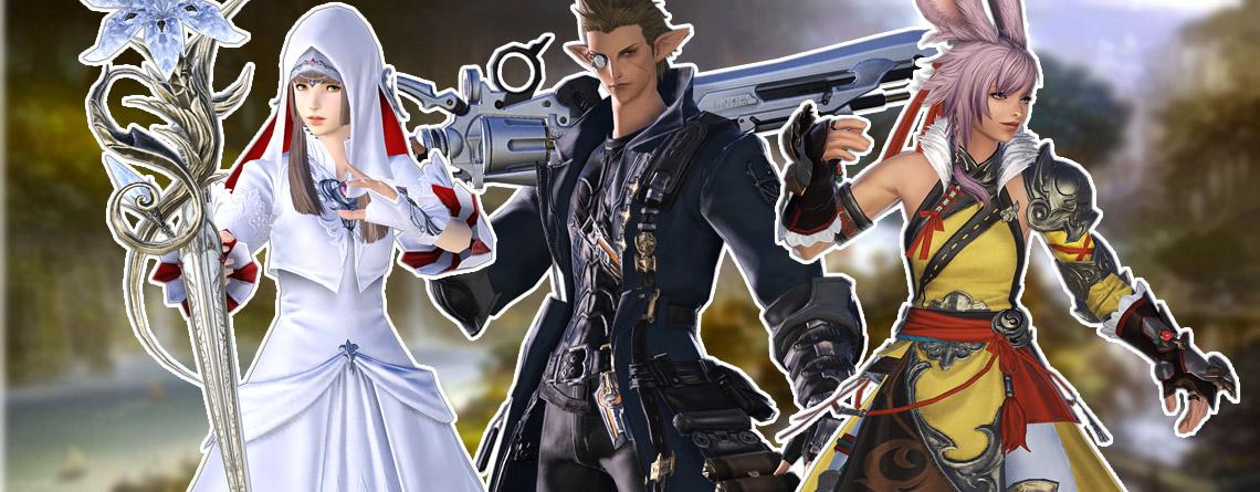 Final Fantasy XIV Klassen-Guide: Welcher Job passt zu dir?