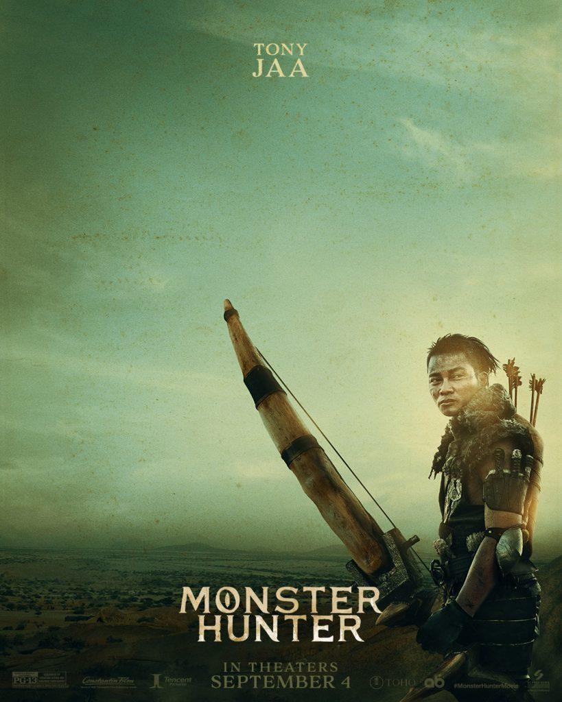 monster hunter film tony jaa