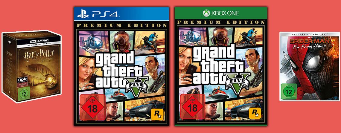 MediaMarkt Angebote: GTA 5 Premium für PS4 & Xbox One zum Bestpreis