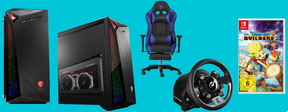 MediaMarkt Angebot: MSI Gaming-PC mit RTX 2070 Super zum Bestpreis