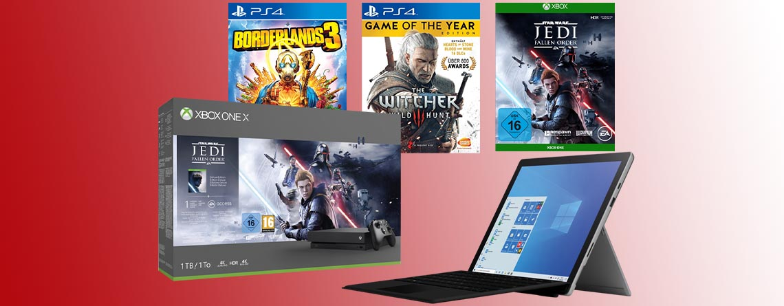 MediaMarkt Angebote im Prospekt: Xbox One X, Spiele & Surface Pro 7