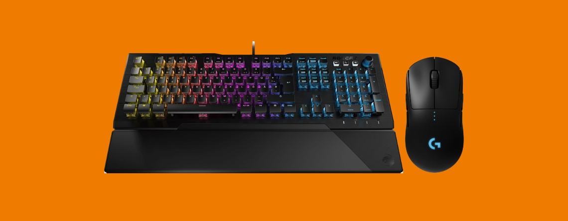 Kabellose Gaming-Maus, High-End-Tastatur und mehr bei Saturn reduziert