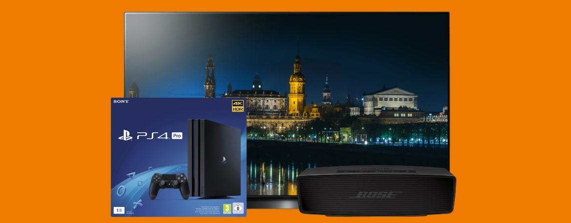 PS4 Pro für 249 Euro, OLED-TV und mehr reduziert im Angebot bei Saturn