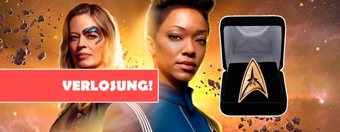 Star Trek Online: Gewinnt limitierte Abzeichen, dicke Schiffe im Wert von bis 50€